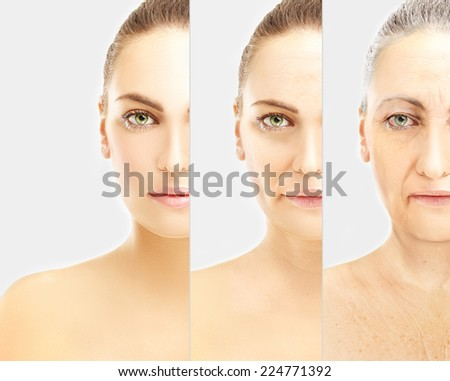 Aging - stock photo