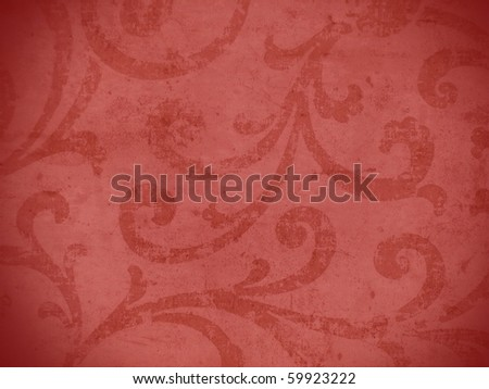 aging abstract fresco style texture close up. More of this motif & more ornaments in  my port. - stock photo