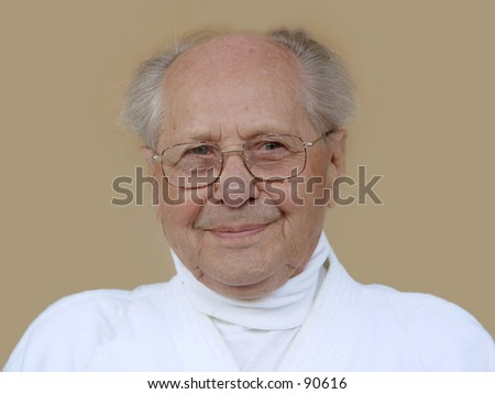 Aging gracefully - stock photo