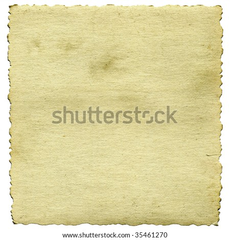 aging photographic paper - stock photo