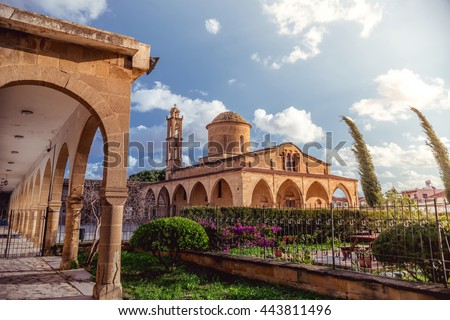 Agios Mamas, Greek Orthodox Monastery in Morphou (G�¼zelyurt). Nicosia District, Cyprus.