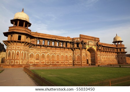 Agra fort, Agra - India - stock photo