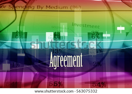 Agreement hand writing word represent meaning stock photo 563075332 agreement hand writing word to represent the meaning of financial word as concept a platinumwayz