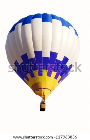 air balloon isolated - stock photo