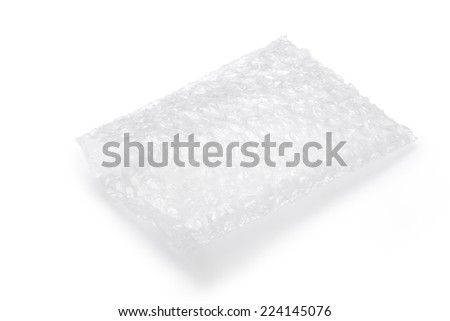 Air bubbles packaging bag - stock photo