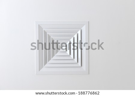 Air condition vent - stock photo