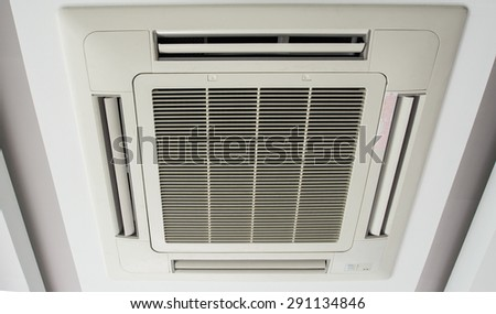 Air conditioning for install on ceiling,cassette type air condition