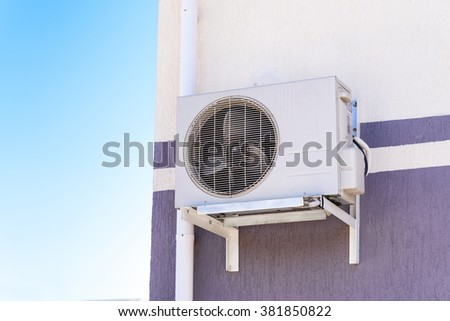 air conditioning unit - stock photo