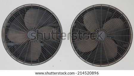Air fan - stock photo