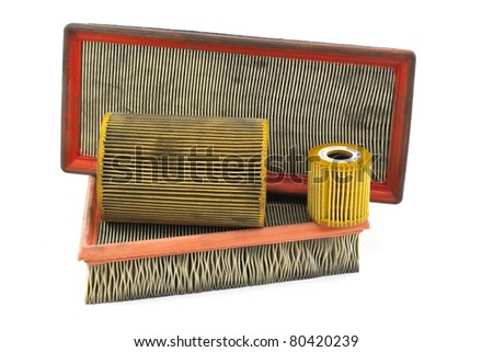 air filters - stock photo