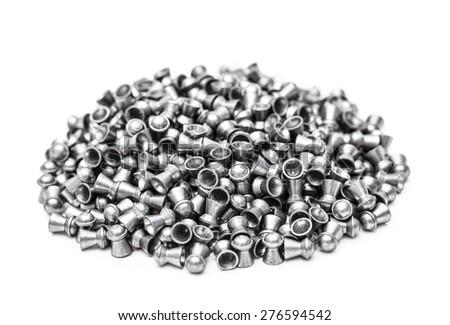Air gun bullets - stock photo