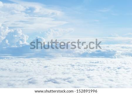 air - sky - sky cloud - sky line - stock photo