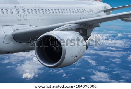 Air travel concept - stock photo