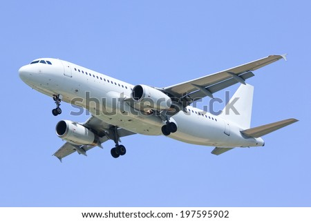 Airbus A320-200 - stock photo