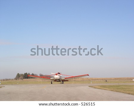 Aircraft, Crop Duster - stock photo