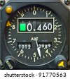 Aircraft Gauge - stock photo