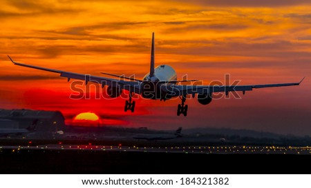 Aircraft Photo - stock photo