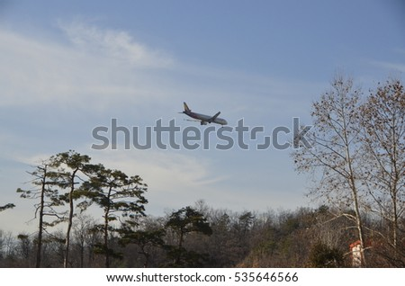 Airplane & nature