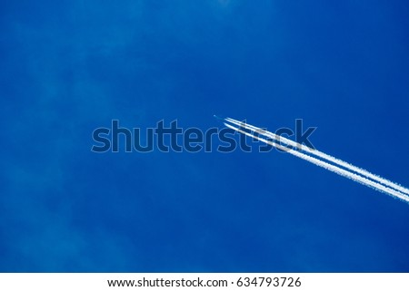 airplane trajectory