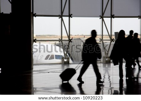 airport 6 - stock photo