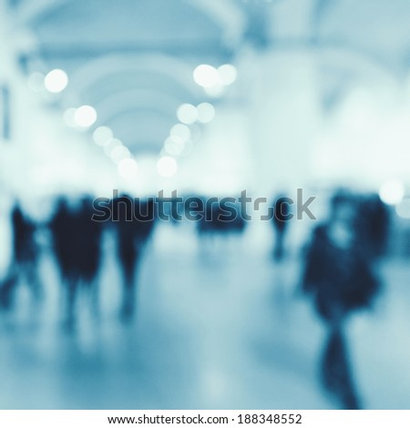 Airport. Abstract blurred backgrounds for your design - stock photo