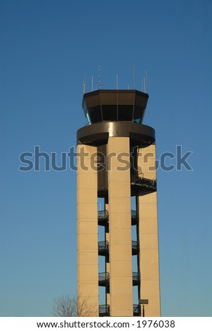 Airport control tower, Rochester, New York