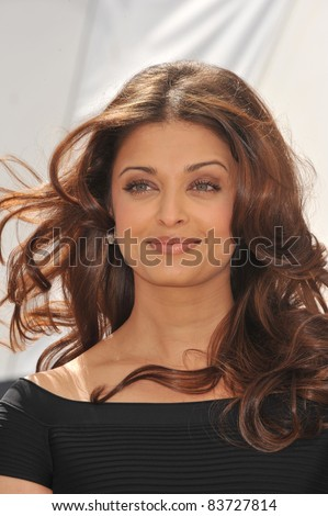 "Aishwarya Rai Bachchan at photocall for her new movie ""Raavan"" at the 63rd Festival de Cannes. May 17, 2010  Cannes, France Picture: Paul Smith / Featureflash - stock photo"