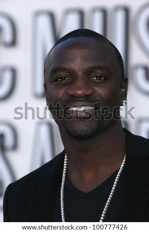 Akon  at the 2010 MTV Video Music Awards, Nokia Theatre L.A. LIVE, Los Angeles, CA. 08-12-10