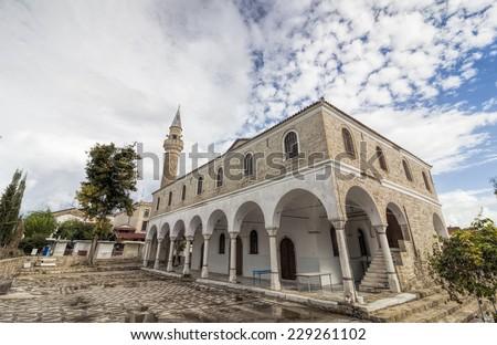 Alacati Pazaryeri Mosque - stock photo