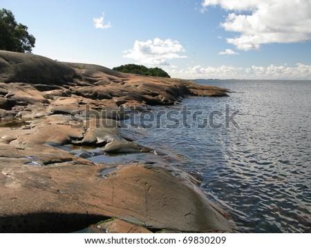 Aland islands - stock photo