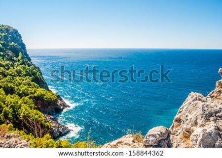 Alanya peninsula, Antalya, Turkey - stock photo