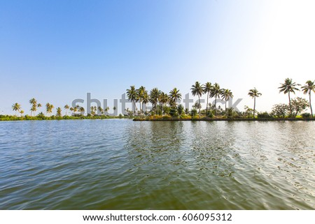 Alappuzha backwaters, Kerala, India