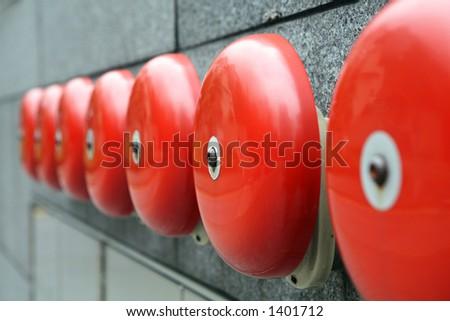 Alarm bells - stock photo