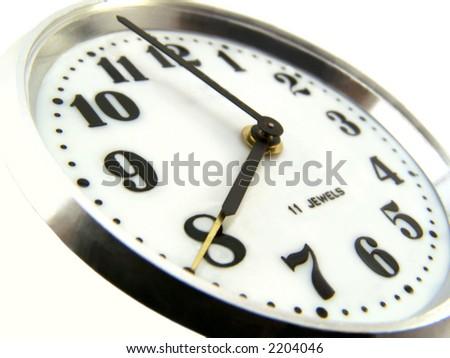 Alarm clock. - stock photo