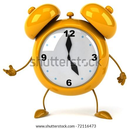 Alarm clock - stock photo