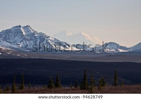Alaska's Mount McKinley - stock photo