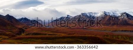 Alaska wilderness - stock photo