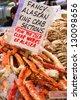 Alaskan King Crab on Ice - stock photo