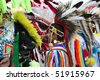 ALBUQUERQUE, NEW MEXICO-APRIL 24:  The Gathering of Nations is the largest Indian Pow Wow in North America and it was held at the University of New Mexico on April 24, 2010 in Albuquerque - stock photo