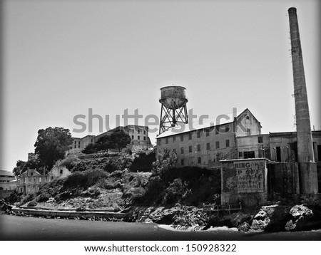 Alcatraz, San Francisco, USA - stock photo