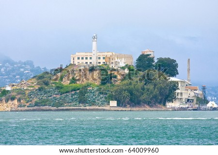 Alcatraz, United States - stock photo
