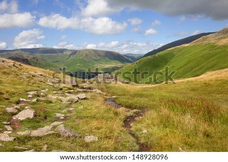 Alcock Tarn, Grasmere, Lake District, England - stock photo