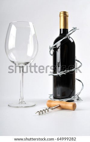 alcohol can be dangerous - stock photo