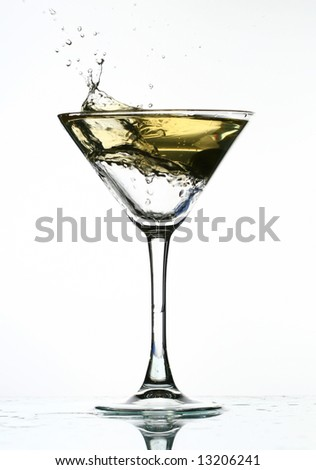 alcohol martini