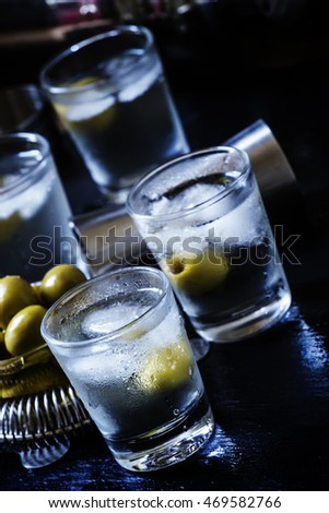 Vermouth stock photos royalty free images vectors for Green cocktails with vodka