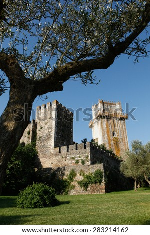 Alentejo a beautiful interior Portuguese region with great rural scenes and old town history discover. - stock photo