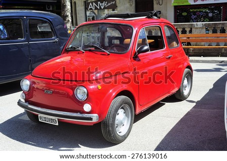 fiat 500 stock photos royalty free images vectors shutterstock. Black Bedroom Furniture Sets. Home Design Ideas