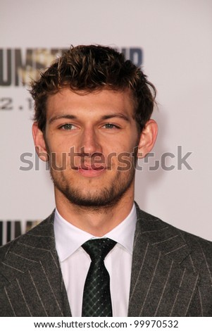 "Alex Pettyfer at the ""I Am Number Four"" World Premiere, Village Theater, Westwood, CA. 02-09-11"