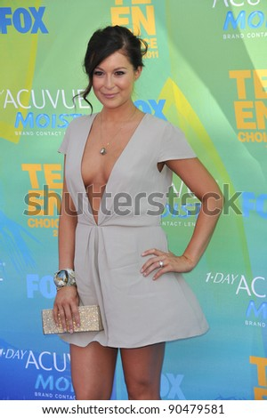 Alexa Vega arrives at the 2011 Teen Choice Awards at the Gibson Amphitheatre, Universal Studios, Hollywood. August 7, 2011  Los Angeles, CA Picture: Paul Smith / Featureflash