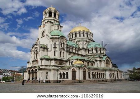 Alexander Nevski cathedral - stock photo